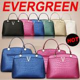 Señora Handbag del diseñador de 2015 de la manera del bolso del cuero mujeres de los bolsos