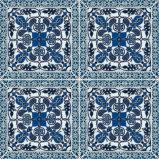 Blaues Muster-rustikale Muster-Porzellan-Fliesen (AJMK6530)