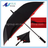 Doppio Canopy Windproof Promotional Golf Umbrella da vendere