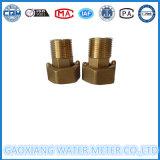 Acopladores de cobre amarillo del contador del agua del fabricante
