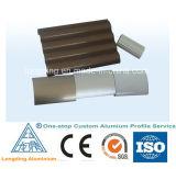 Indústria de alumínio da extrusão do projeto diferente