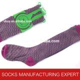 Baumwolle 100% der Frau Coloful Gefäß-Socke (UBM1054)