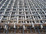 編むステンレス鋼のひだを付けられた金網