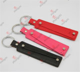 Venda Por Atacado PU Leather Slide Charms Strap Keychain para Presentes (PSK50910)