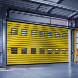 Isolierstahlmetalhochgeschwindigkeitsrollen-Blendenverschluss-Tür (HF-2028)