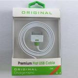 Cavo accessorio del USB del TPE dell'imballaggio della bolla del telefono mobile di alta qualità per l'unità del USB