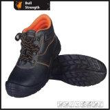 Zapatos de seguridad de cuero industrial con certificado Ce (Sn1206)