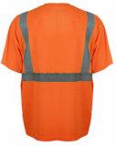 T-shirt de Rond-Collet avec la bande r3fléchissante