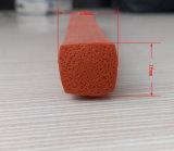 Profil de corde/silicone en caoutchouc de silicone de Squre de résistance thermique