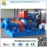 Pompe centrifuge titanique de boue d'anti abrasion centrifuge horizontale