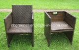 Coversation 커피 세트 등나무 가구 옥외 의자 또는 등나무 의자