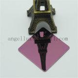 Feuille plate d'acier inoxydable de miroir de couleur de rose d'usine de Ti-Or de Foshan pour la décoration d'hôtel du levage KTV