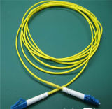 Cordon de connexion de fibre optique recto uni-mode de LC, LC à la fibre Patchcords de SM de LC