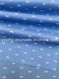 Fertiges Gewebe-Baumwollpopelin-Marine-Blau 100% rieb mit weißer Abbildung