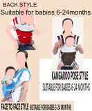 Rot/Schwarzes/blaue faltbare nützliche Baby-Träger