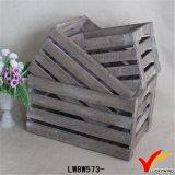 Recicl a caixa de madeira