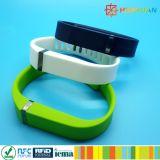 会員忠誠TPU TPE MIFARE標準的な1K RFIDのスマートなブレスレット
