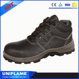 Ботинки безопасности единственного стального пальца ноги Кевлар противостатические, обувь Ufa079 людей