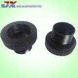 Schwarzeloxieren CNC-Aluminium-drehenteile