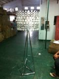 Lampada di pavimento diritta del metallo moderno di modo per illuminazione dell'hotel