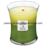 Candele di vetro di Scened del vaso per il commercio all'ingrosso