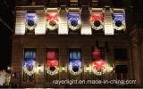 LED 훈장 나비 Bowknot 크리스마스 주제 옥외 빛