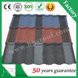Tuile de toit enduite lapidée chinoise enduite galvanisée de Français de tuiles de toit en métal