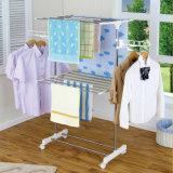 Acier inoxydable armoire de couche de deux couches