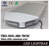 Signal d'échantillonnage blanc Lightbar de 28 pouces DEL mini avec la couverture en aluminium et la lentille linéaire (TBG-505L-4B6)