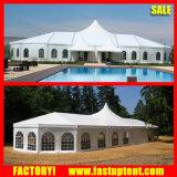 Multi-Сторона кончает роскошный шатер купола свадебного банкета высокого пика смешанный