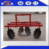 Machine une d'agriculture disque Ridger de rangée/deux rangées