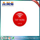 13.56 cartão Epoxy do círculo RFID do megahertz mini