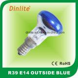 R39-E14 en dehors d'ampoule colorée de Refelctor