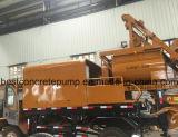Bomba concreta móvel com caminhão de mistura
