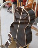Aiersi 단단한 최고 객실 작풍 나무로 되는 Acoutic 여행자 기타