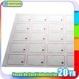 Embutido elegante de la tarjeta del Hf del PVC de la venta directa de la fábrica para la fabricación de la tarjeta