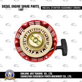 Assemblea del dispositivo d'avviamento di ritrazione dei pezzi di ricambio del motore diesel (168f)