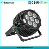 Osram 7*15W RGBWの段階のための屋外のビームLED同価ライト