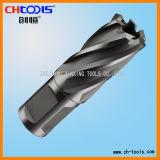 Coupeur de trou d'acier à coupe rapide avec la partie lisse de Weldon (DNHX)