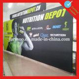 Промотирование рекламируя крытую индикацию ткани напряжения стены торговой выставки