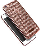 Het galvaniseren Bling TPU Case voor iPhone6 Plus