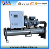 Hanbell halbhermetischer Schrauben-Wasser-Kühler (abkühlende Kapazität 90kW-1776kW)