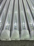 Très Bright 2400mm Two Rows Chip Integrated Base 44W T8 8FT DEL Tube Light Fixture avec Long Wire