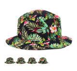 Chapéu floral bonito da cubeta do algodão da alta qualidade