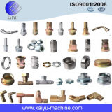 Tee igual de Brass Material Fittings para Gas Piping