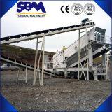 Trituradores portáteis do granito/planta de esmagamento de pedra granito móvel