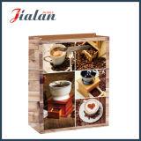 De glanzende Gelamineerde het Winkelen van de Boon van de Koffie van het Document van de Kunst Zak van het Document van de Gift