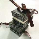 Caixa de jóia de papel para jóias e relógios