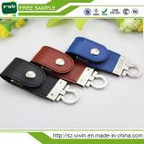Lederne grelle Platte, Förderung lederner USB, geprägtes Leder USB