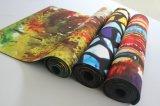 Stuoia di gomma stampata personalizzata di yoga di colore completo